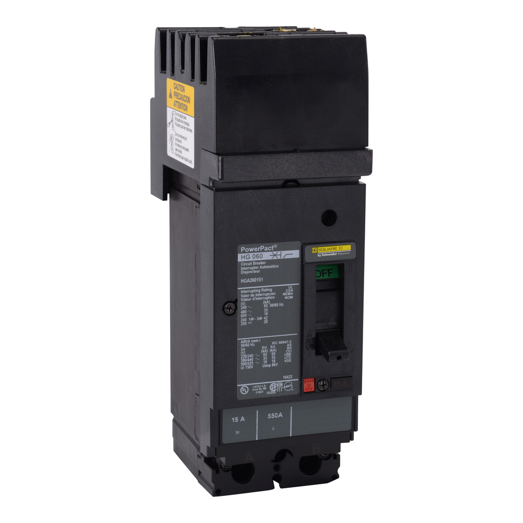 SQUARE D PowerPact H-Frame Molded Case Circuit Breakers I-Line - HGA36030YP