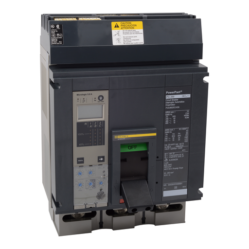 SQD PGA36060U31A MOLDED CASE CIRCUIT BREAKER