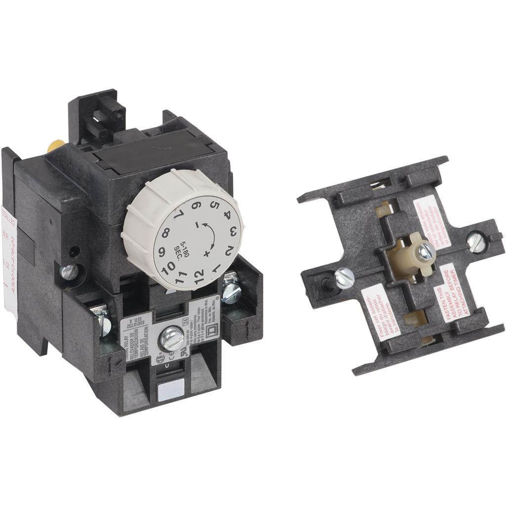 Mayer-NEMA Control Relay Pneumatic Timer Attachment - 3 Minute Off-Delay-1