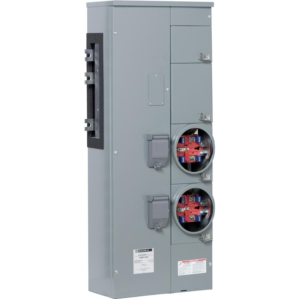 SQUARE D EZ Meter-Pak Meter Centers Branch Units - EZMR112225X
