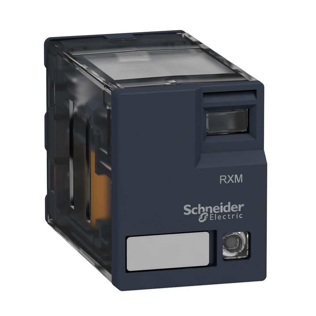 SQD RXM4GB3BD PLUG-IN RELAY 250V 3A RXM + LED, NO MANUAL OP