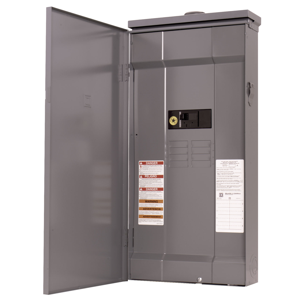 Distribution Equipment & Enclosures Load Centers Single Phase Main Breaker Fixed | Springfield ...