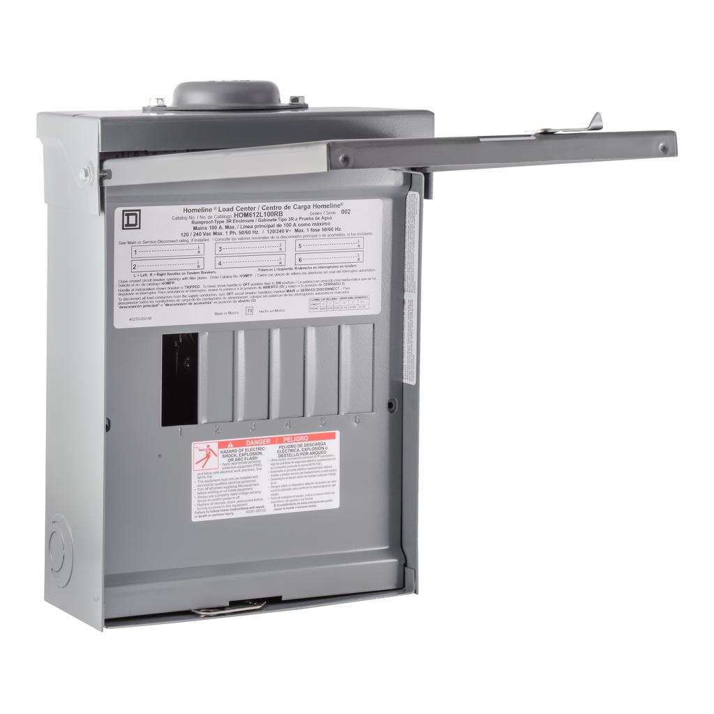 SQD HOM612L100RB LD-CNTR BOX&INT