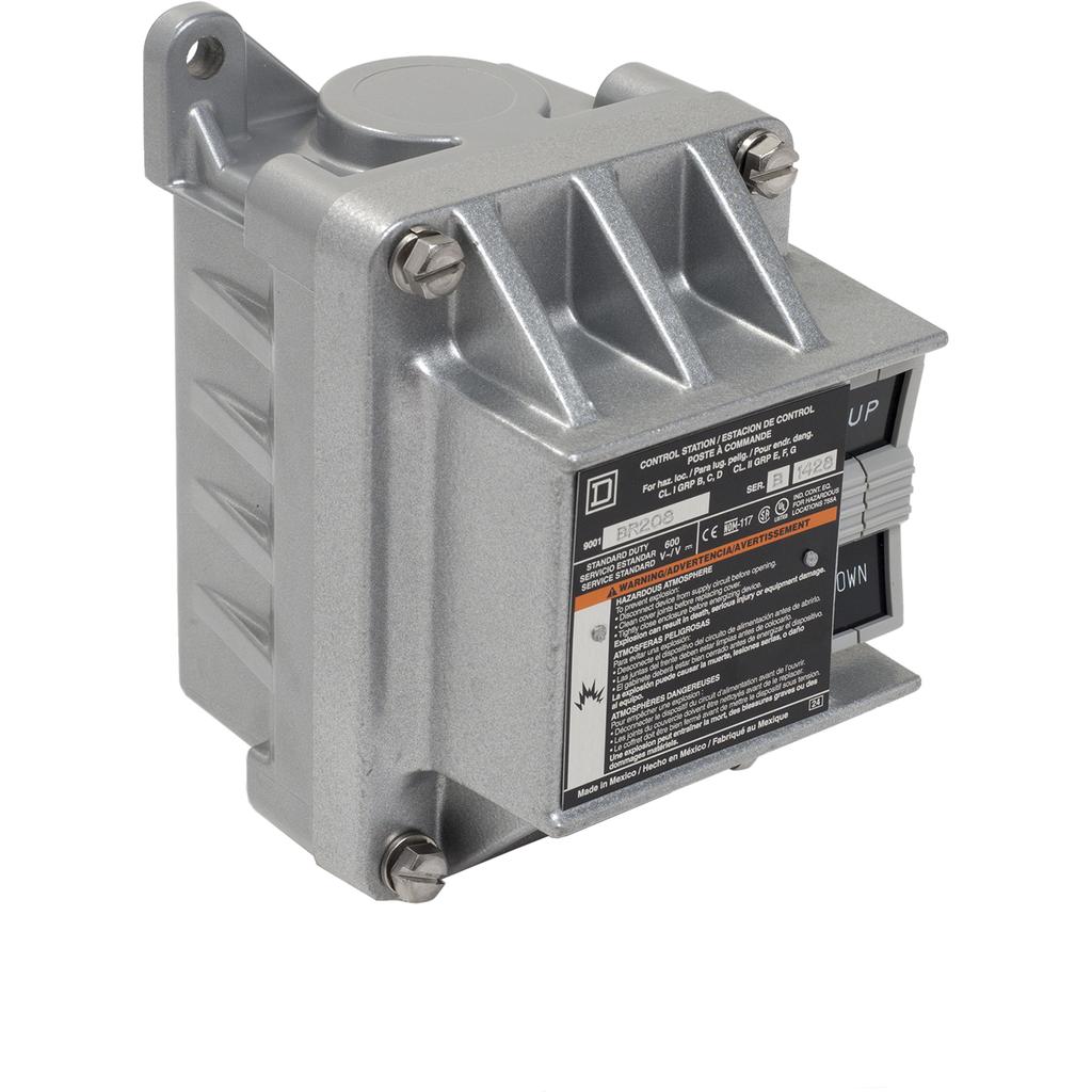 SQD 9001BR208 CONTROL STATION 600VAC 5A T-B