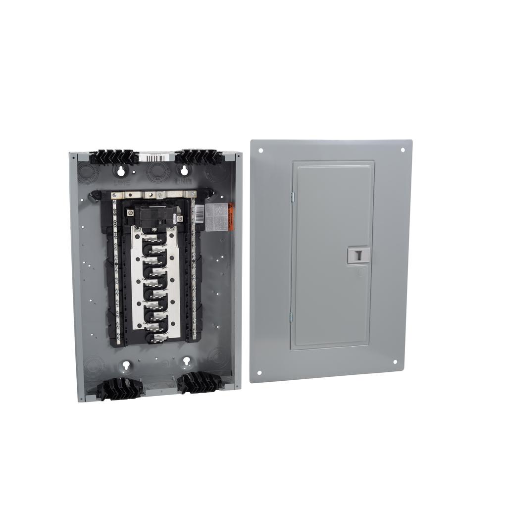 SQD HOM2040M100PQCVP LOAD CENTER VALUE PK QWIK GRIP PLUG ON NEUTRAL N1 MB 100A 20/40SP