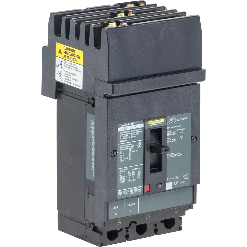 SQUARE D PowerPact H-Frame Molded Case Circuit Breakers I-Line - HJA36110