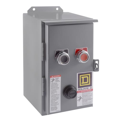 SQD 8536SBA2V02AS 18A 600V AC STARTER NEMA OPTIONS