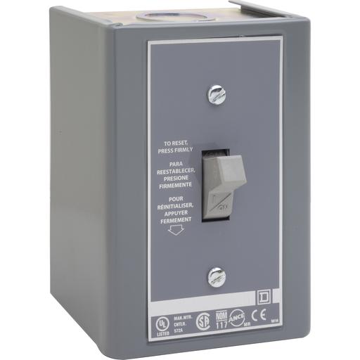 SQD 2510FGJ1 277V AC MANUAL STARTER F OPTIONS