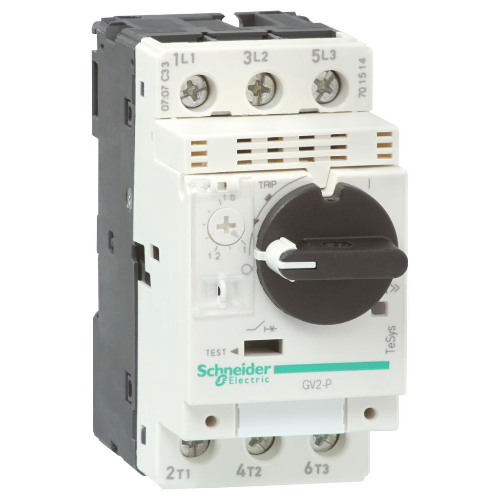 SQD GV2P03 600V MANUAL STARTER