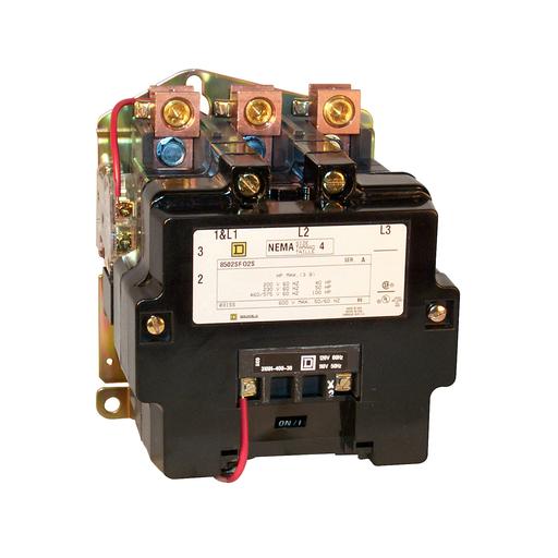 SQD 8502SFO2V02S CONTACTOR 600VAC