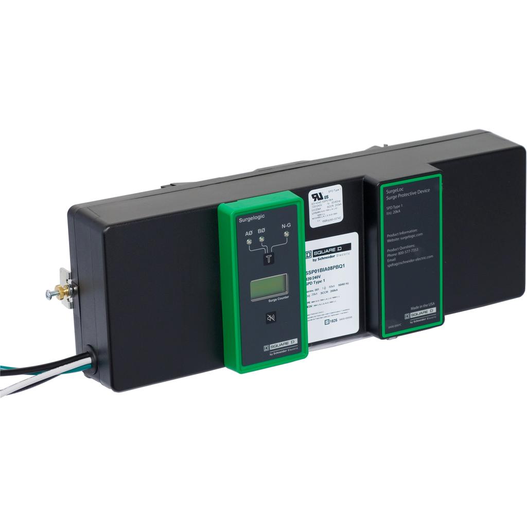 Mayer-NQ Panelboards Surge Protection Device - SSP03BIA08PBQ1-1
