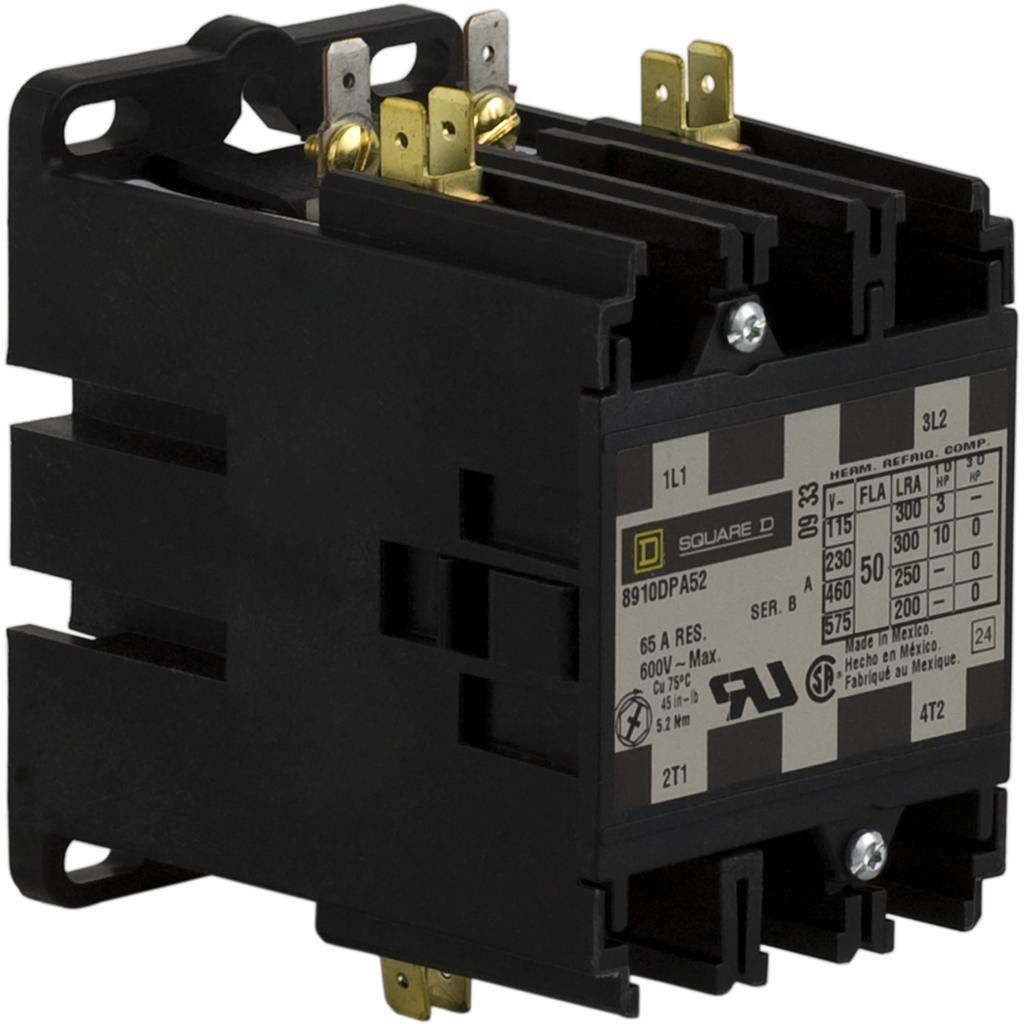 SQD 8910DPA52V02 120V CONTACTOR