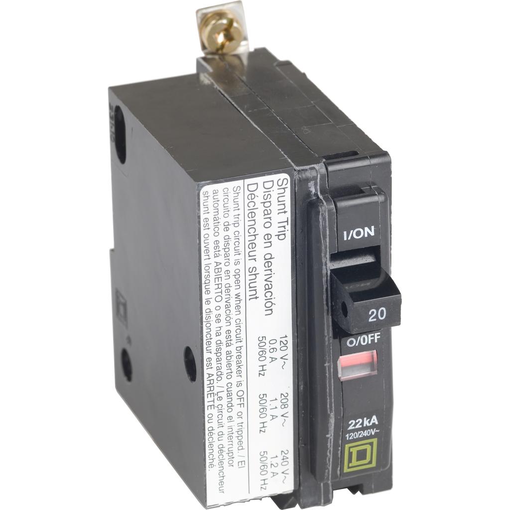 SQD QOB1201021 SP-120/240V-20A CB