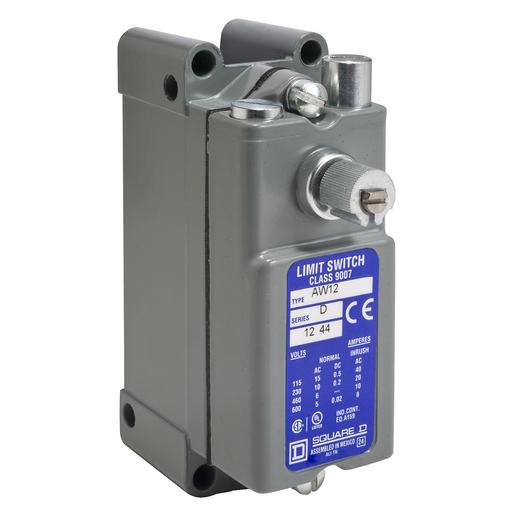 SQD 9007AW16 LIMIT SWITCH 600VAC +OPTIONS