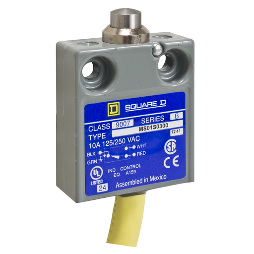 SQD 9007MS01S0300 MINI LIMIT SWITCH +OPTIONS