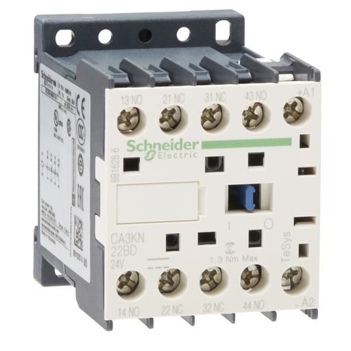 SQD CA3KN22BD CONTROL RELAY 600VAC +OPTIONS