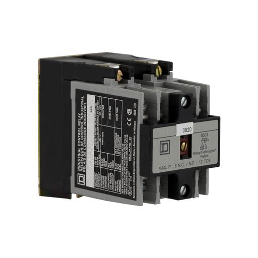 SQD 8501XO20XTD1V02 RELAY 600VAC