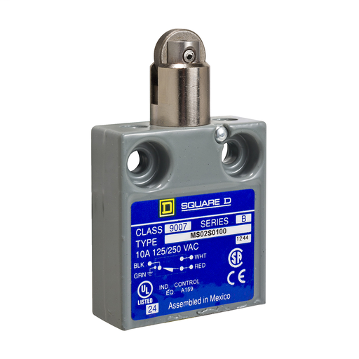 SQD 9007MS02S0100 MINI LIMIT SWITCH