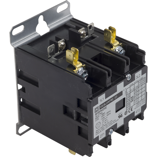 SQD 8910DPA32V02 30A 600V AC DPA CONTACTOR OPTIONS