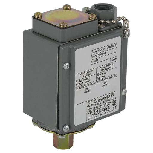 SQD 9016GAW22 10A 480V AC VACUUM SWITCH G +OPTIONS