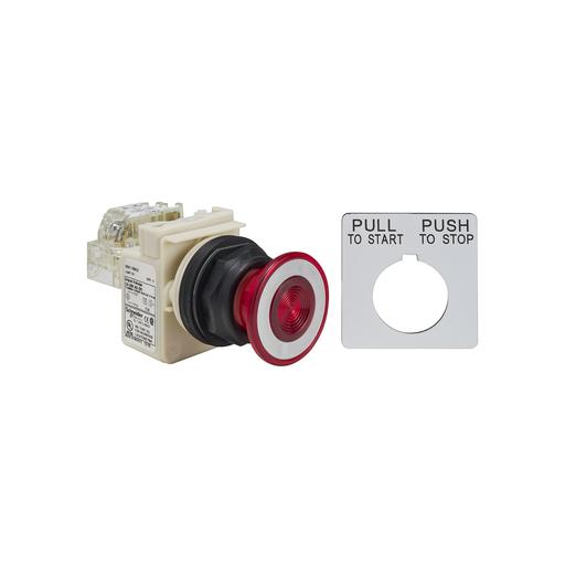 SQD 9001SKR9P35RH13 PUSH-PULL OPER