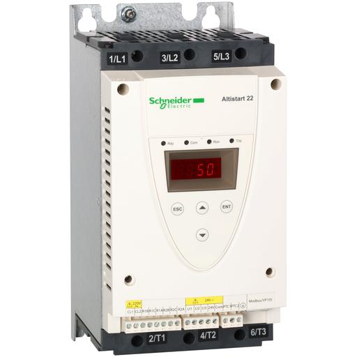 SQD ATS22D47S6U SOFT START 208-600V AC 110V CNTRL, 47A