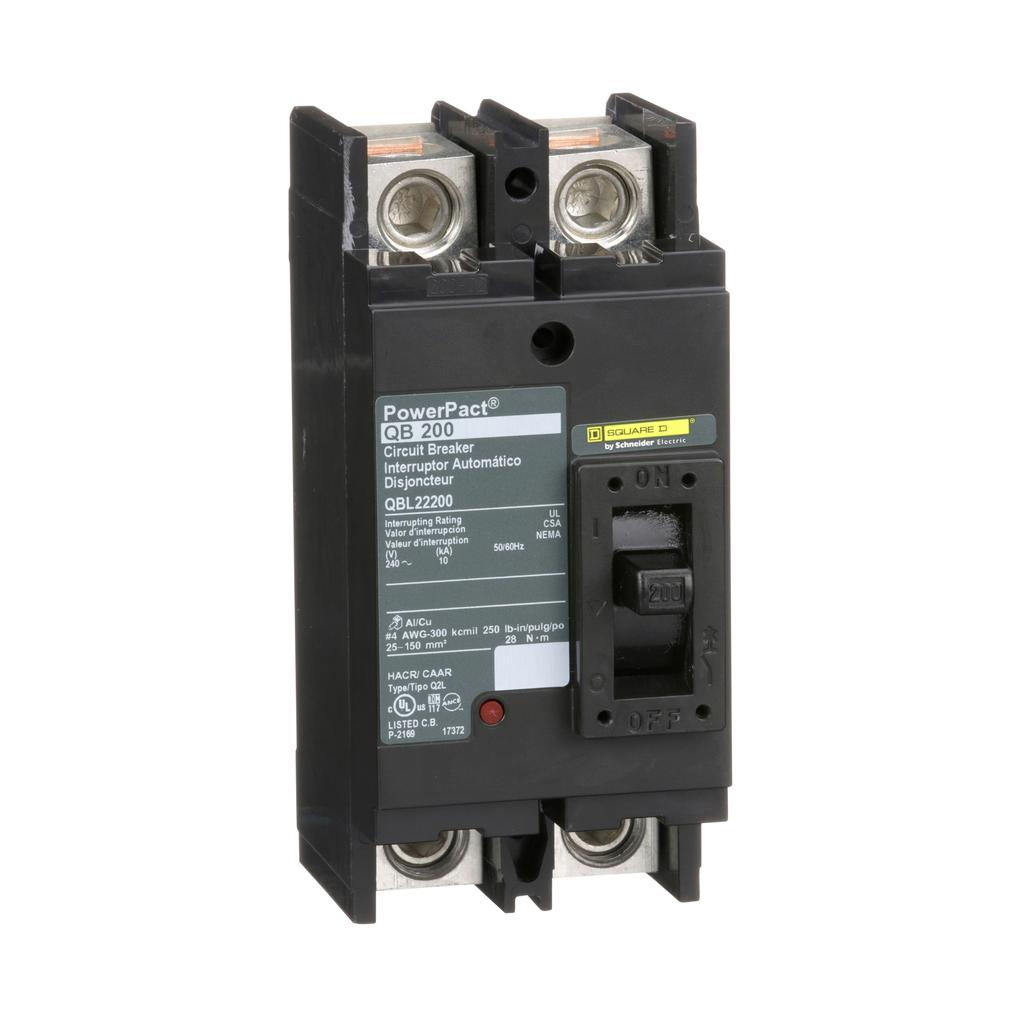 PowerPact Q - molded case circuit breaker - 2-pole - 10 kA - 240 V - 200 A