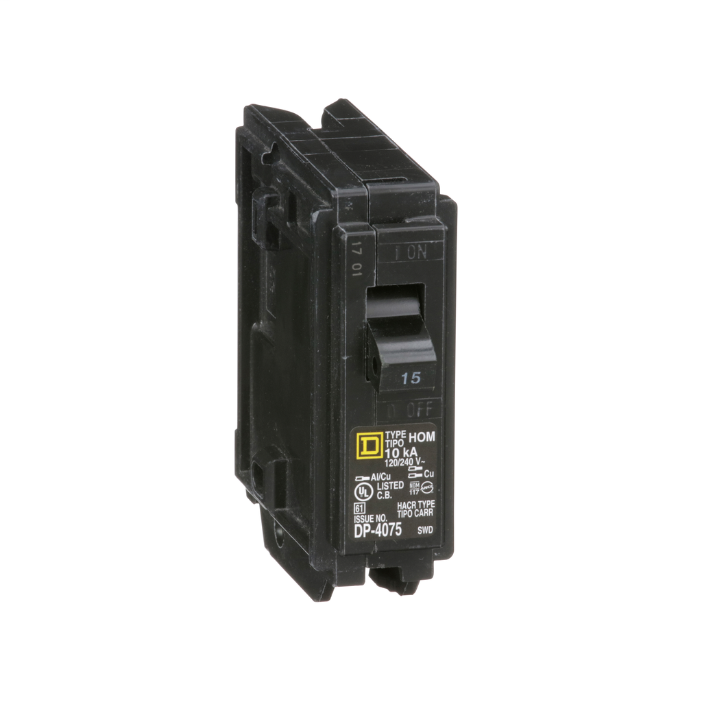 MINIATURE CIRCUIT BREAKER 120V - 15A