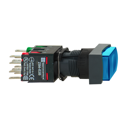 SQD XB6CA65B PUSHBUTTON 240VAC +OPTIONS