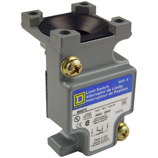 SQD 9007CO52 LIMIT SWITCH PLUG IN