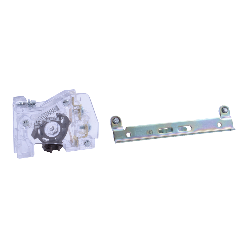 Auxiliary contact, Type S, 1 NO contact, external, field convertible