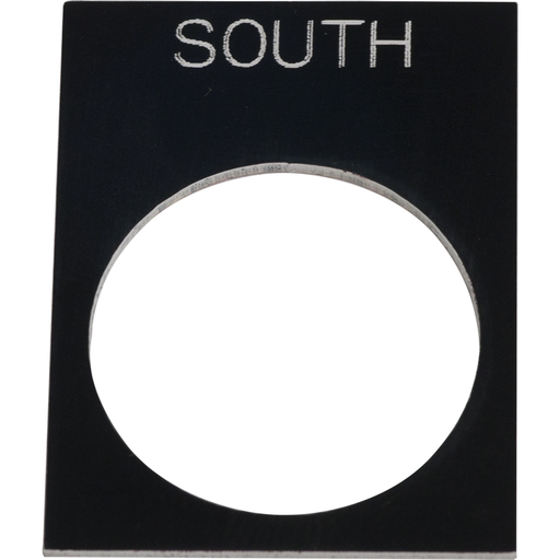 SQD 6516002380 PENDANT STATION LEGEND PLATE