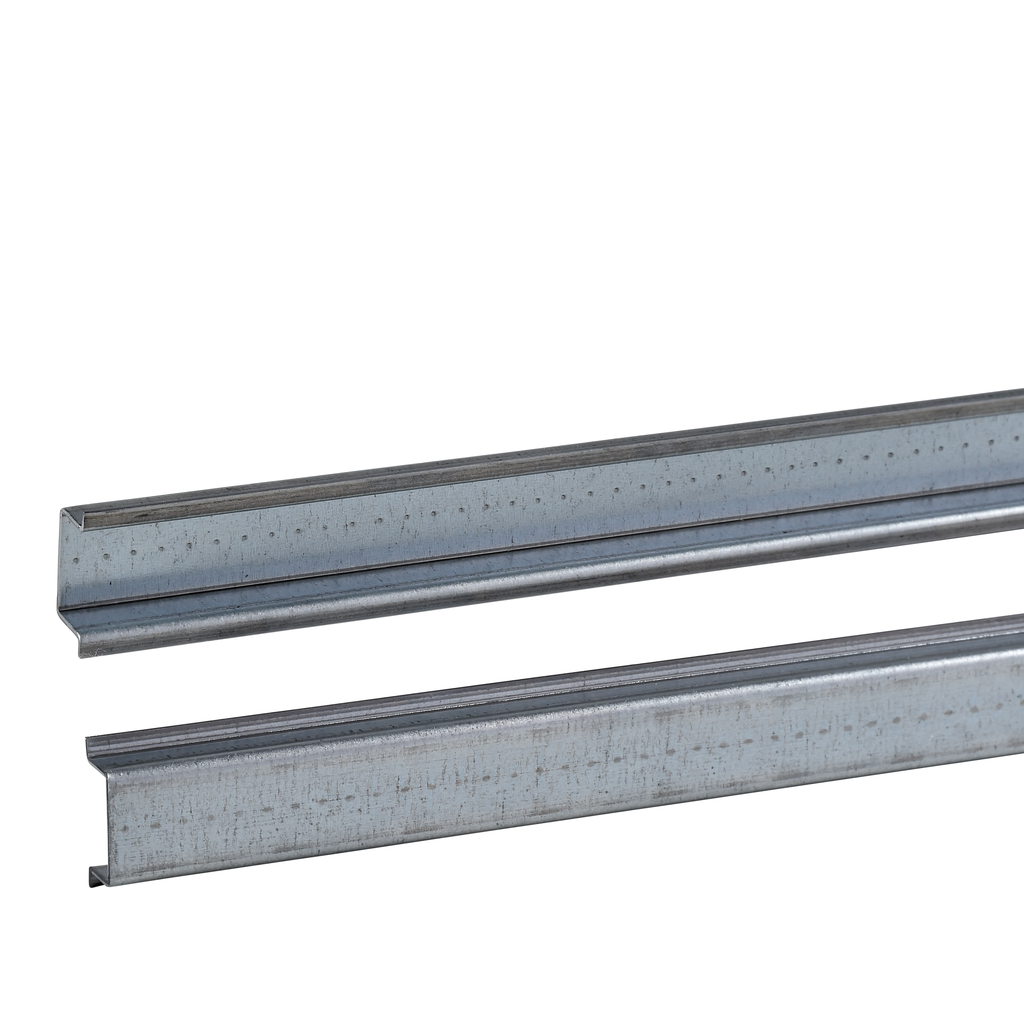 One symmetric mounting rail perforated 35x7.2 mm L2000 mm type B Supply: 20