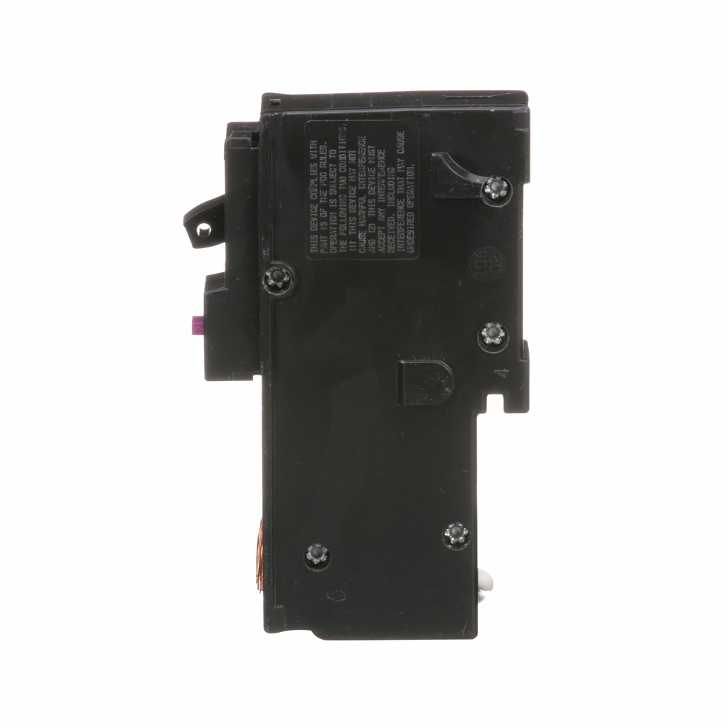 Square D™ Homeline™ Miniature Circuit Breakers, HOM115DF, is in a 1 inch wide format for 1-pole circuit breakers. They are designed to plug into Homeline load centers. has dual funcion circuit breaker application. UL listed.