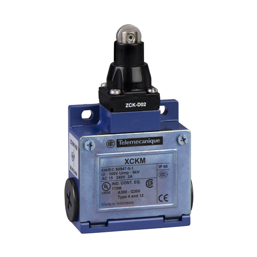 SQD XCKM102 LIMIT SWITCH 240VAC
