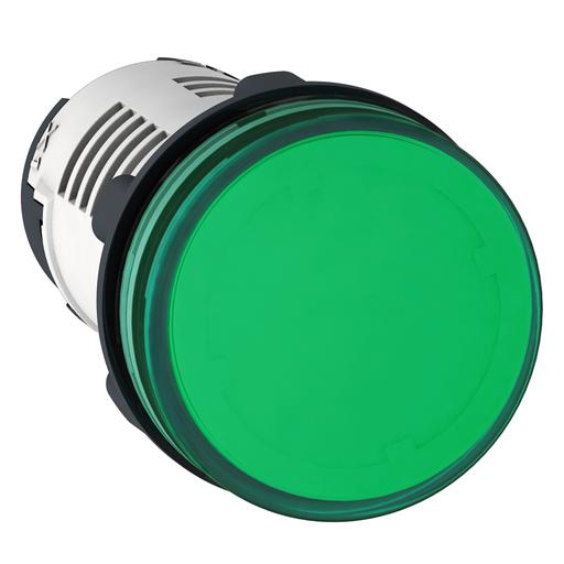 SQD XB7EV03BP PL LED 24V GREEN