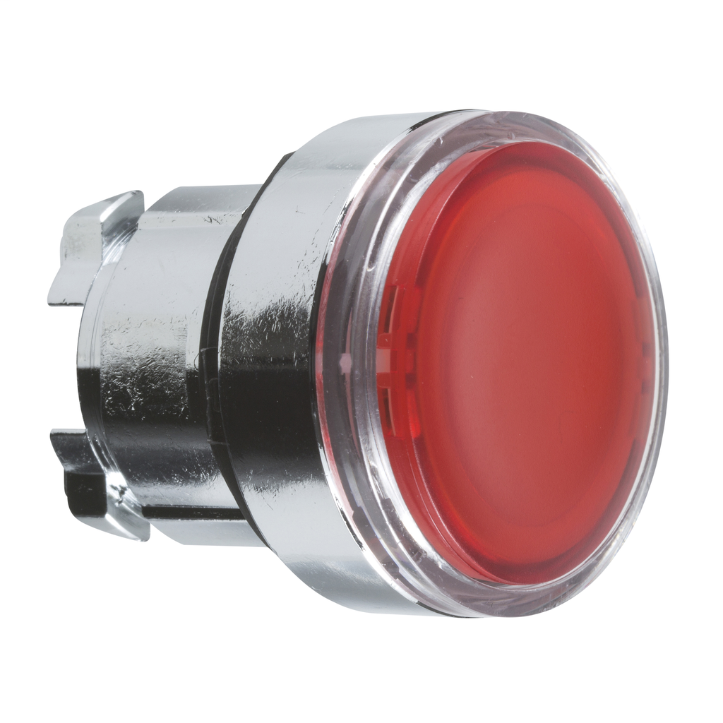 Rotary Switch With Black Plastic Lever Having An Integral Red Warning