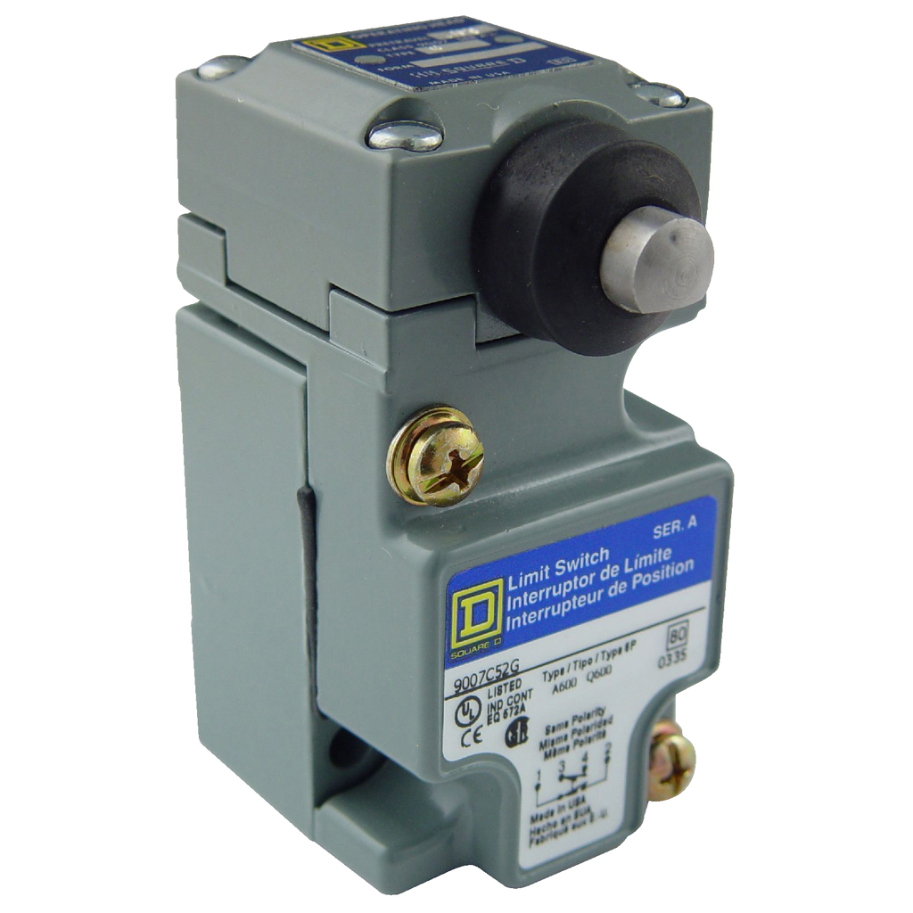 LIMIT SWITCH 600V 10AMP C +OPTIONS