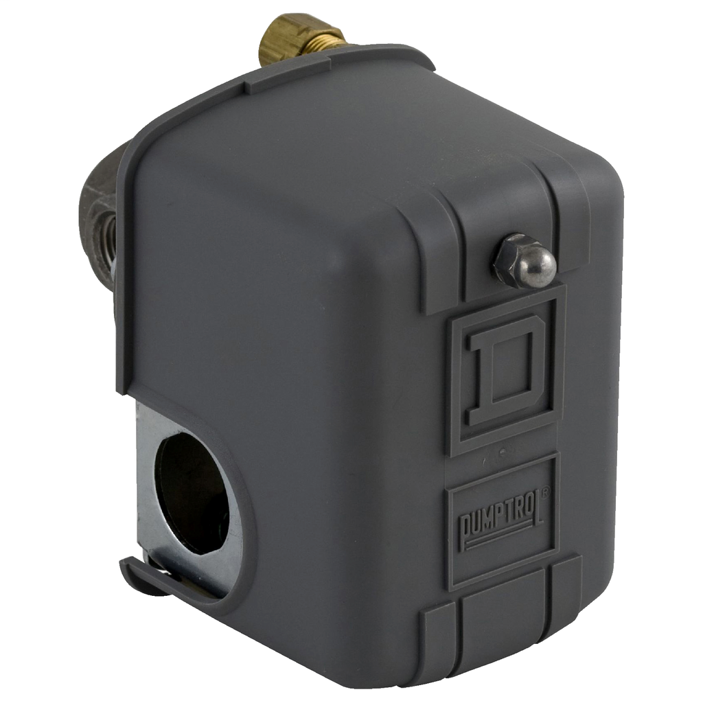 Air compressor switch 9013FH - fixed differential - Off at 100 psi - low hp