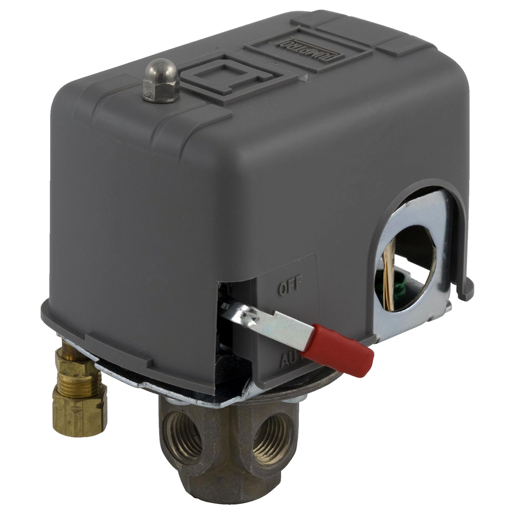 Air compressor switch 9013FH - fixed differential - Off at 125 psi - low hp