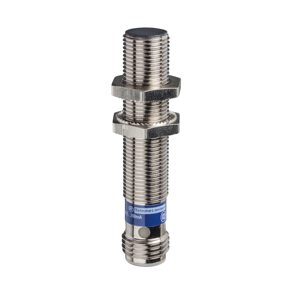 Inductive sensor XS5 M12 - L50mm - brass - Sn2mm - 12..24VDC - M12