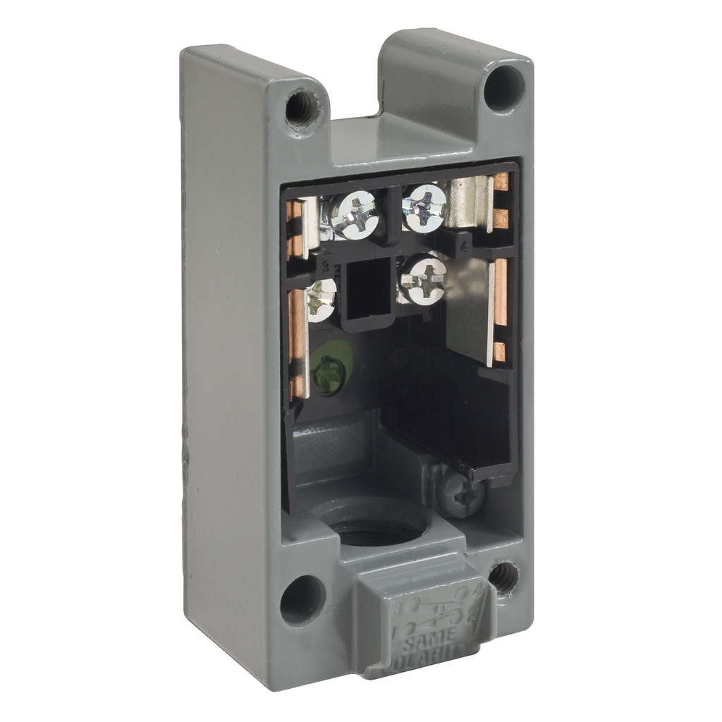 LIMIT SWITCH RECEPTACLE C +OPTIONS