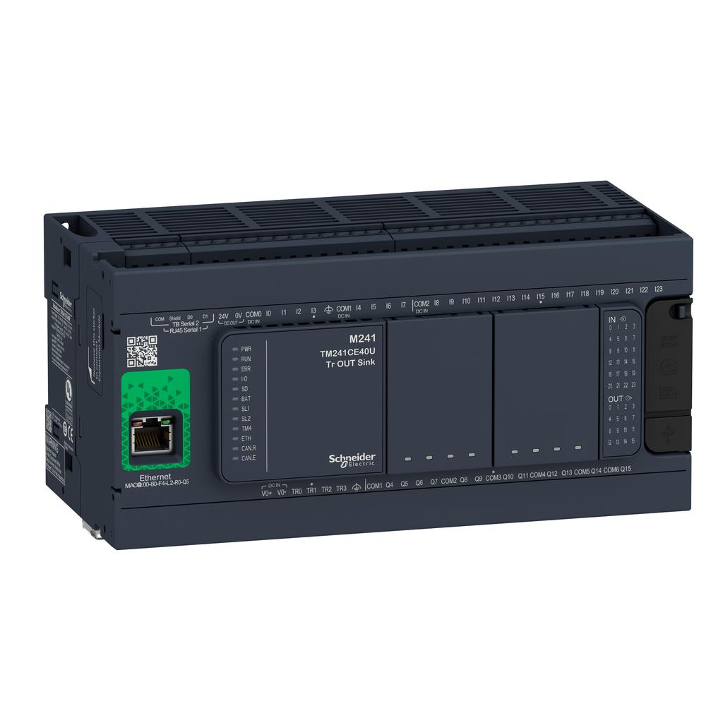 Controller M241 40 IO relay Ethernet