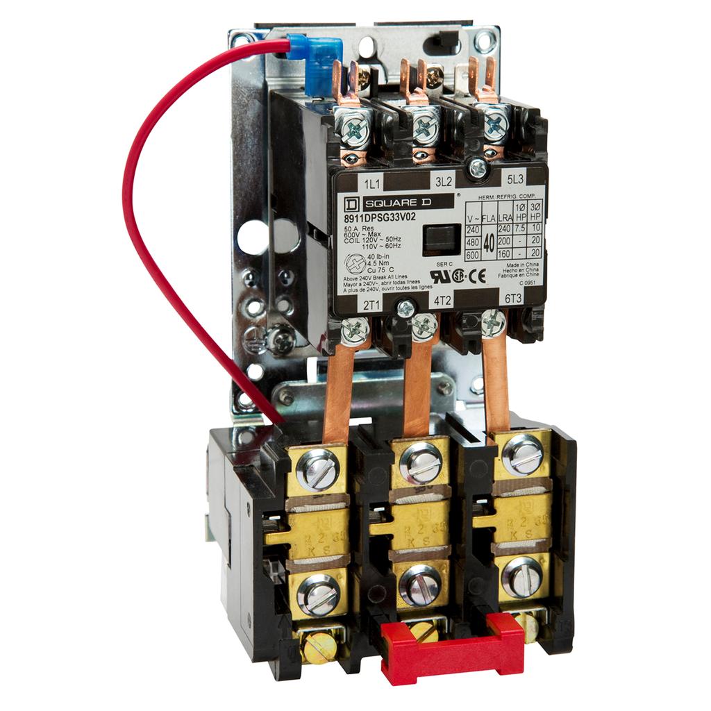 STARTER 600VAC 40AMP DPS +OPTIONS