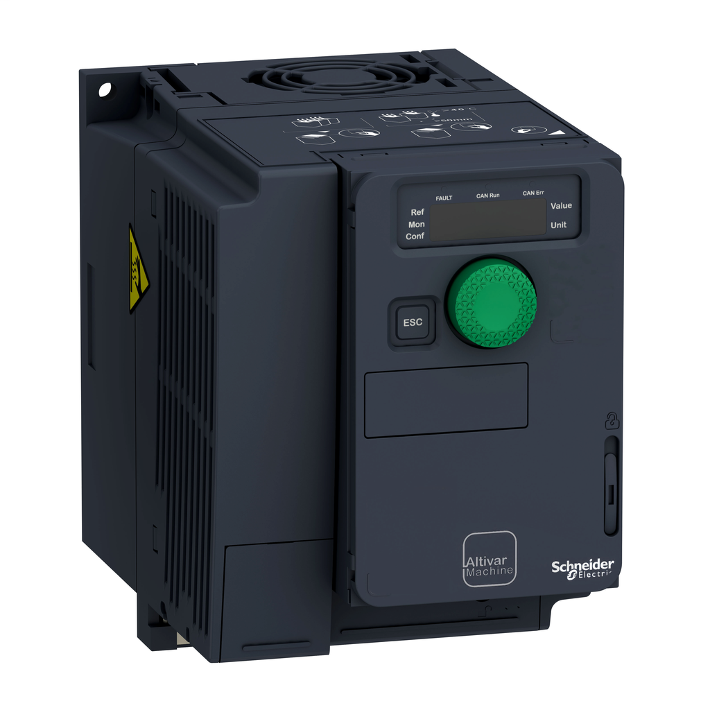 Variable speed drive, ATV320, 0.75 kW, 380…500 V, 3 phases, compact