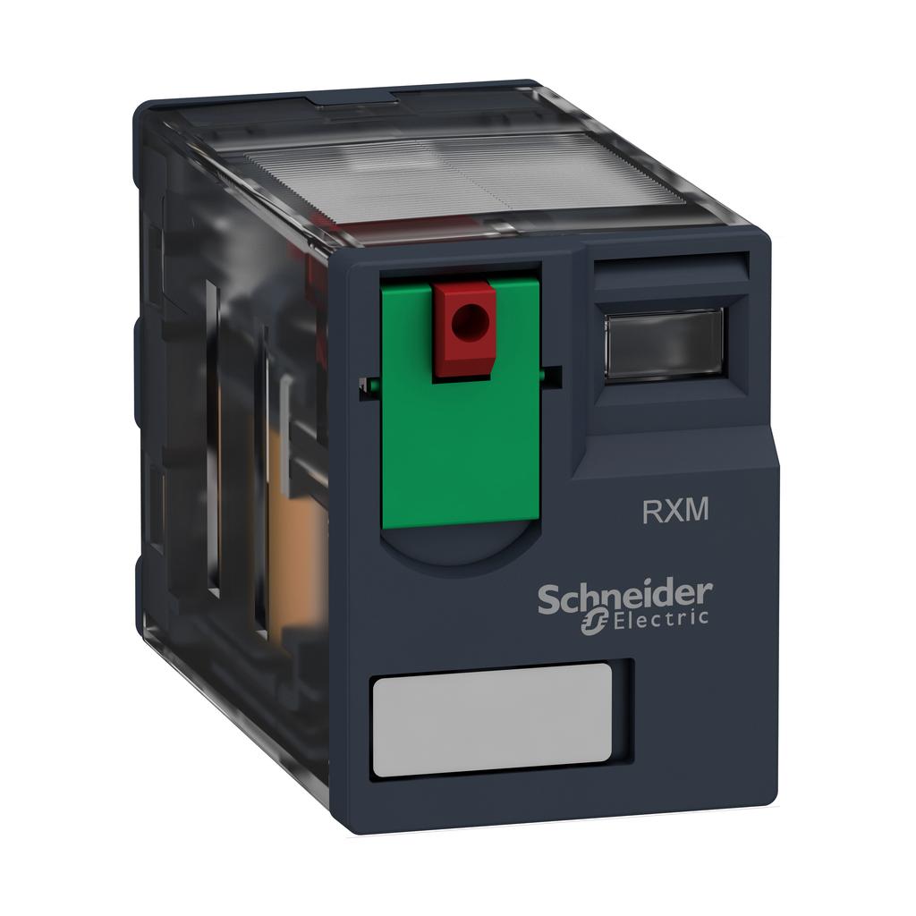 Miniature Plug-in relay - Zelio RXM 3 C/O 120 V AC 10 A