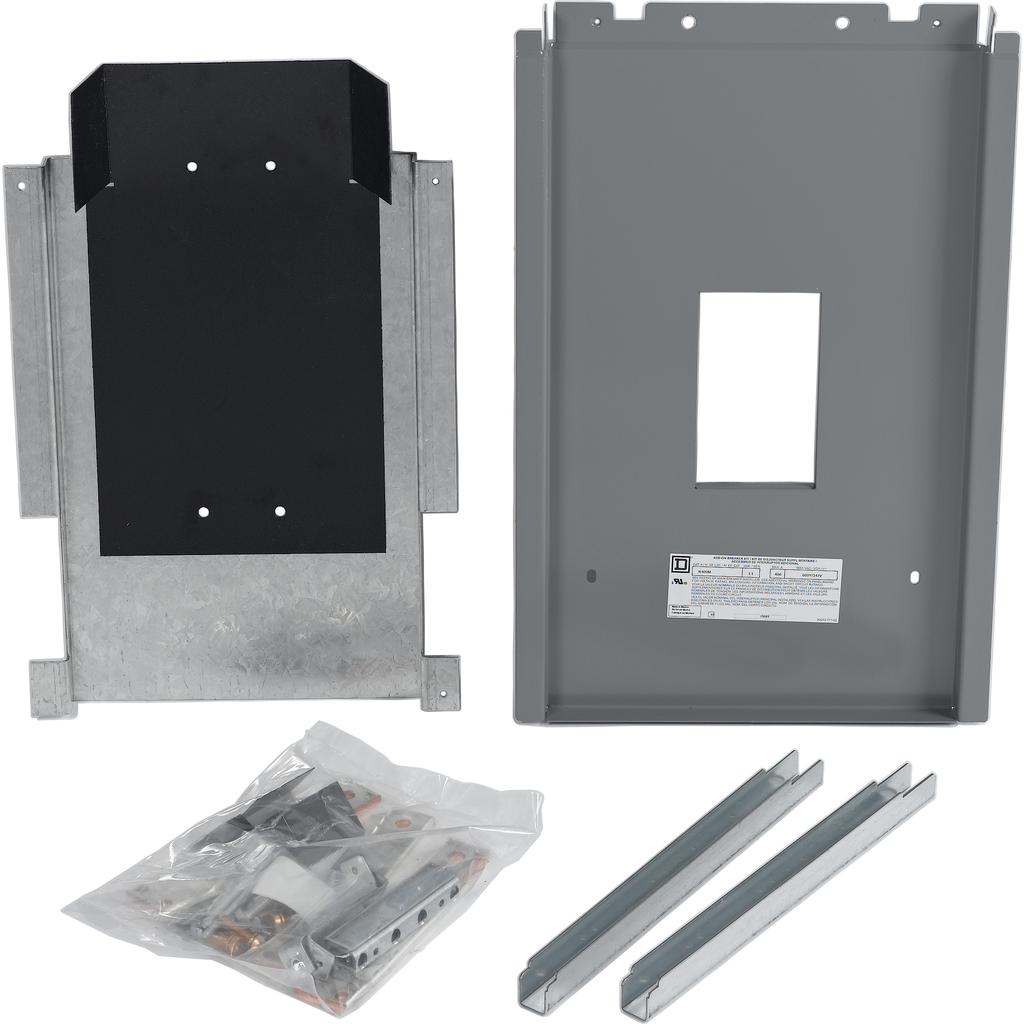 NF Panelboard accy, installation kit, main breaker, 400 A