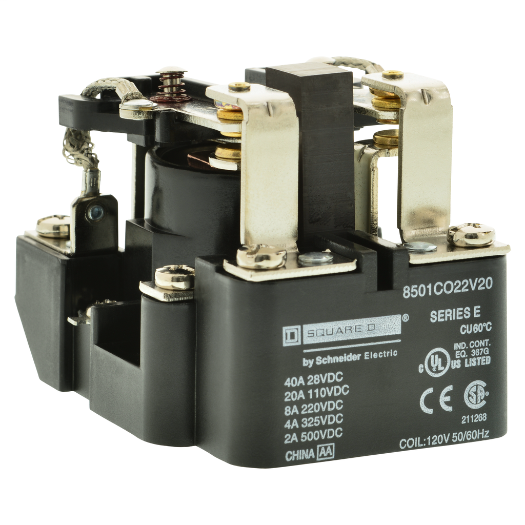 Power Relay, DPDT, 2NO and 2NC, 10 A resistive at 110 VDC, 110 VDC coil