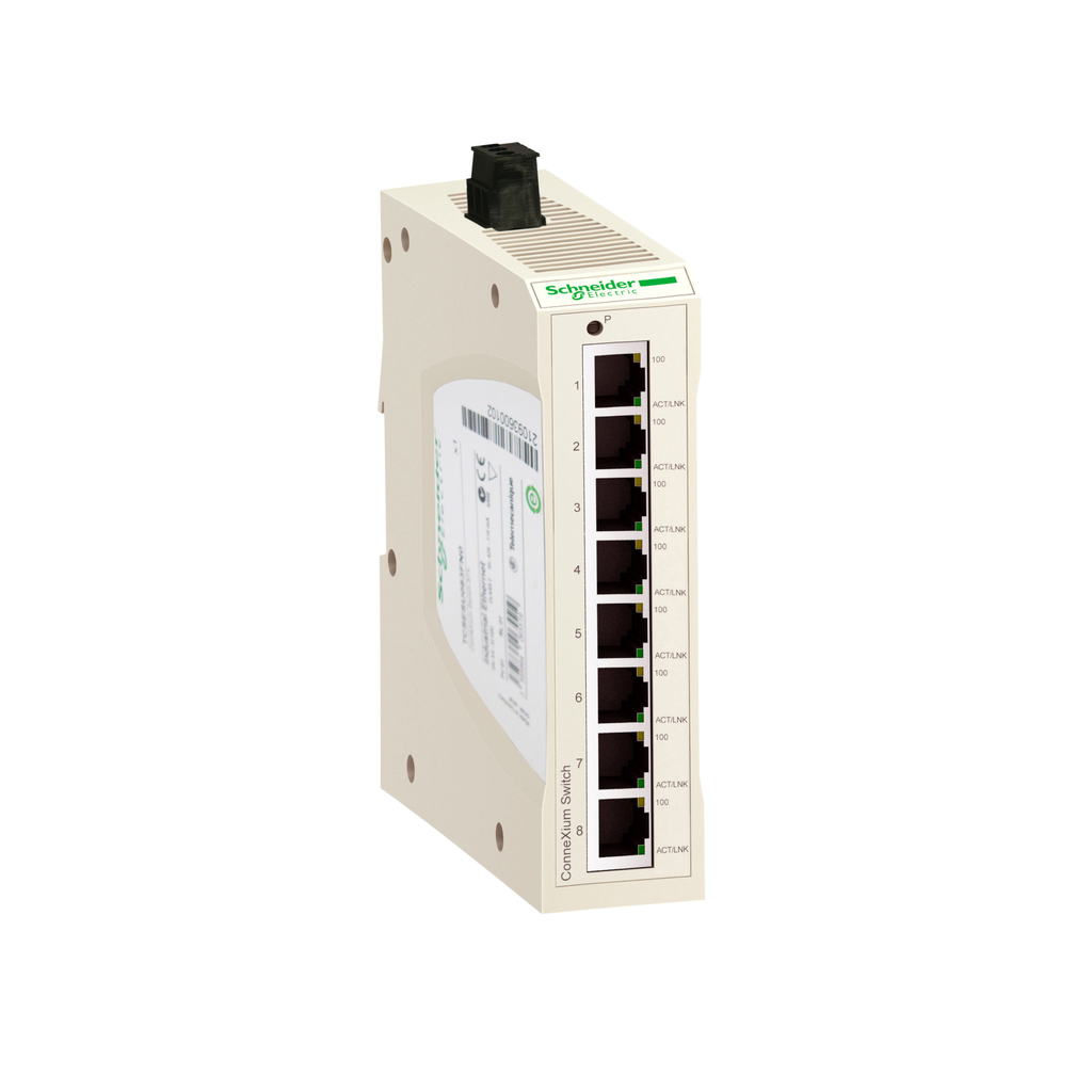 Ethernet TCP/IP switch - ConneXium - 8 ports for copper