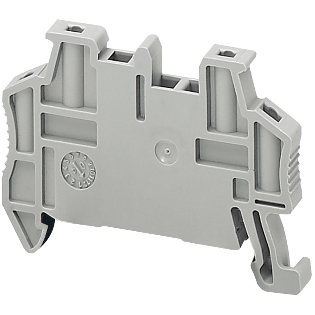 Linergy terminal blocks, end bracket, snap on, for 35 mm DIN rail, 5.2 mm wide, markable